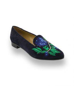 Schuhe von John Thomas bestickt